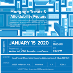 REALTORS! See Franklin Loan Center's CEO for a Real Estate Update