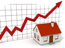 property values rise