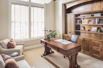 Furnished Home Office Room in Brand New Luxury Home